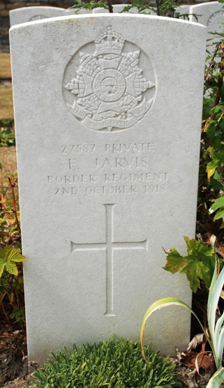 Frank Jarvis Grave, courtesy Chris Weekes