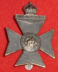 Cap Badge of Queen Victoria's Rifles